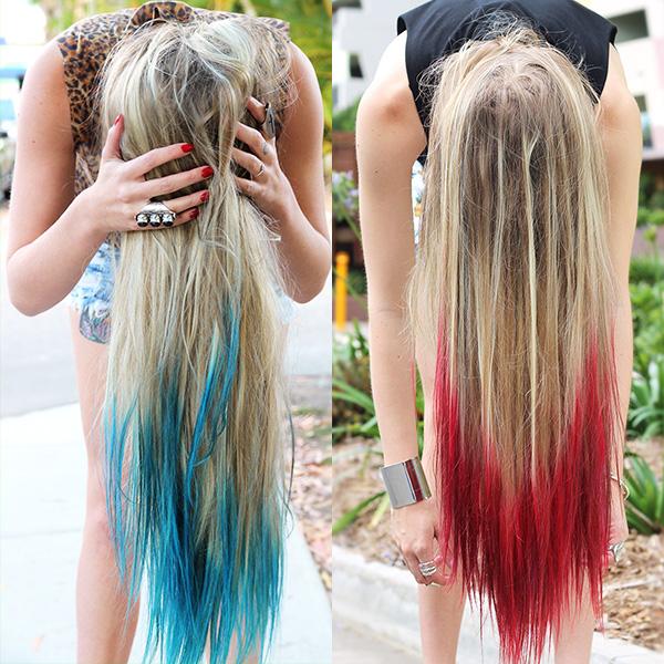 Dip Dye Hair Tutorial