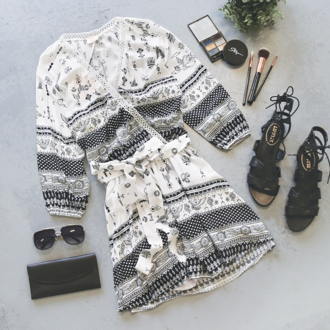 b&w-dress
