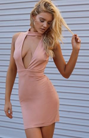 blush-colar-dress-n1