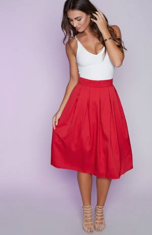 red-full-skirt-3