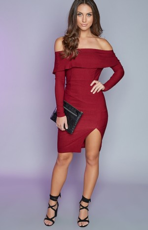 red-off-shaulder-dress-28