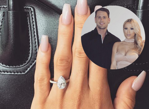 The Blingiest Celeb Engagement Rings