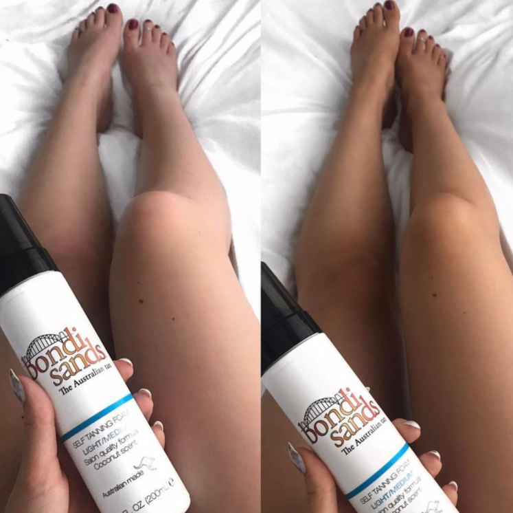 Tans Tried Tested How To Pick The Right Bondi Sands For Your Skin