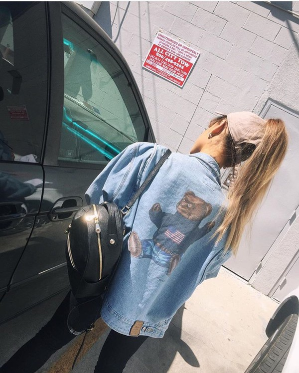 AG denim jacket