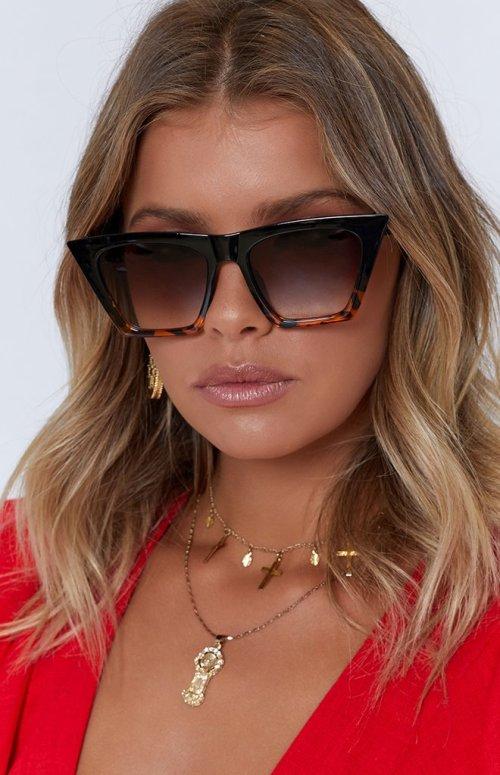 Lucy Retro Sunglasses Tortoiseshell