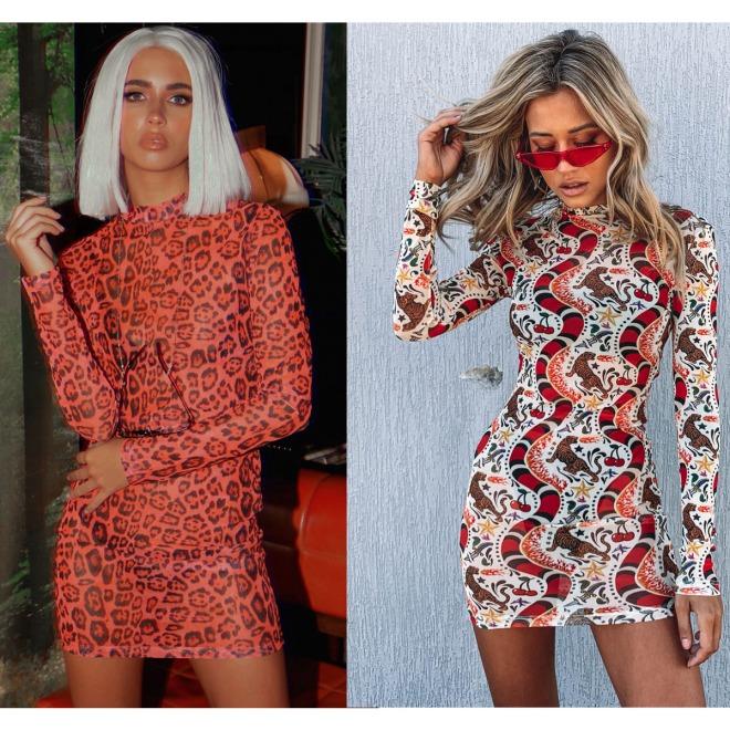 Mesh-Dress